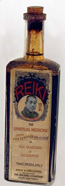 Reiki : The Spiritual Medicine...