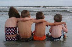 blog post...  how long until summer break?  ready to take this year's photo on the beach...