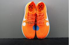 9c07648c88191 Off-White x Nike Zoom Fly Mercurial Flyknit Orange AQ2115-800 check out from
