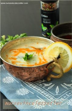 Kereviz sapı çorbası