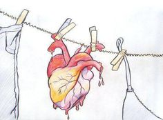 Image uploaded by Lucia. Find images and videos about love, heart and drawing on We Heart It - the app to get lost in what you love. Heart Illustration, Graphic Design Illustration, Heart Art, Love Heart, Anatomically Correct Heart, Human Body Parts, Muse Art, Anatomical Heart, Heart Images