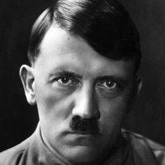 """Adolf Hitler, dictator, 1889 - 1945, Germany """" >> Uns're Fahne flattert uns voran, Uns're Fahne ist die neue Zeit. Und die Fahne führt uns in die Ewigkeit! Ja die Fahne ist mehr als der Tod!"""