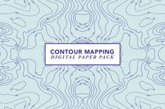 Contour Mapping by Hello Mart on Creative Market