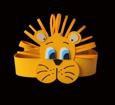 Gorra2 Animal Crafts For Kids, Art Activities For Kids, Diy For Kids, Crafts To Make, Arts And Crafts, Daniel And The Lions, September Crafts, Lion Birthday, Snail Craft
