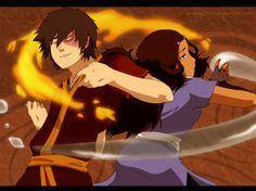 AT: Zuko and Katara by annria2002