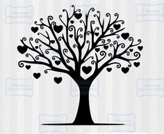 Family Tree Digital Download ♥ ♥ ♥You will receive the following♥ ♥ ♥ ► 1 SVG Files- Tree (with hearts) ► 1 DXF Files- To use with the basic silhouette studio ► 1 PNG file with transparent background to use as clip art- High resolution, 300 dpi ════════════════════════════════════════════ TO SEE ALL OF OUR FAMILY TREE DESIGNS CLICK THE LINK BELOW ► https://www.etsy.com/shop/5MonkeysClipart?ref=l2-shopheader-name&search_query=family+tree ════════════════════════════════════════════ ...