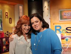 In a one-on-one interview with Rosie, comedian Kathy Griffin reveals a side of herself rarely seen on television. From her painful childhood to her struggle with an eating disorder, Kathy tells all. Rosie Odonnell, Oprah Winfrey Network, Kathy Griffin, Comedians, Candid, Actors & Actresses, Movie Tv, Interview, Couple Photos
