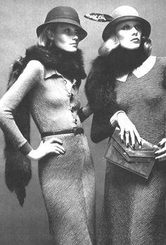 Vogue Paris, August 1973  Photographer: Alex Chatelain  Dresses by Jacqueline Jacobson for Dorothée Bis