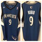 For Sale - Minnesota Timberwolves Ricky Rubio Royal Blue Swingman Jersey - See More At http://sprtz.us/WolvesEBay