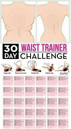 Waist Trainer Challenge Workout!