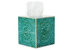 Mosaic Tissue Box, Turqupise Tissue Boxes, Tissue Holders, Kosmetik Box, Facial Tissue, Mosaic, Mosaics, Tile Mosaics