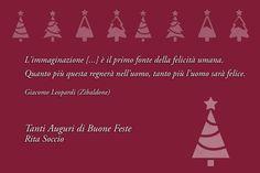 Con una citazione del grande Giacomo Leopardi ecco gli auguri da parte dell'Assessore alle Culture Rita Soccio