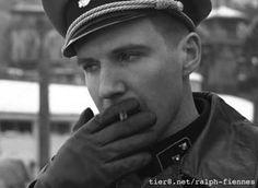 Ralph Fiennes Smoking Bond Cigarettes