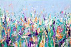 "Saatchi Art Artist Michelle Carolan; Painting, ""Spring Meadow"" #art"