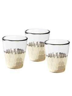 Plated Votives (Set of 4) by Serena & Lily at Gilt