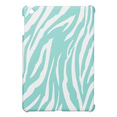 Aqua Blue and White Zebra Pattern Case For The iPad Mini We have the best promotion for you and if you are interested in the related item or need more information reviews from the x customer who are own of them before please follow the link to see fully reviewsThis Deals          Aqu...