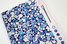 Personalaise your sketchbooks with rubber stamps, follow our tutorial on the Liberty Craft Blog #LibertyPrint