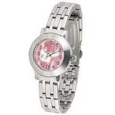 South Florida USF Bulls Ladies MOP & Swarovski Crystal Watch