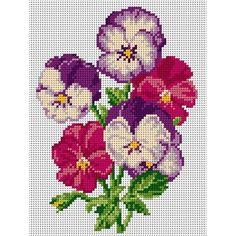 Cross Stitch Art, Simple Cross Stitch, Cross Stitch Borders, Cross Stitch Flowers, Cross Stitch Designs, Cross Stitching, Cross Stitch Patterns, Crewel Embroidery, Bargello