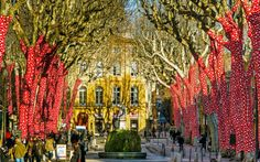 Cours Mirabeau in Aix-en-Provence Best Vacation Destinations, Best Vacations, Short Break, Aix En Provence, Great Photos, Things To Do, Best Holiday Destinations, Things To Make, Provence