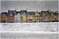 Winter in Oberkassel von HP-Grafik