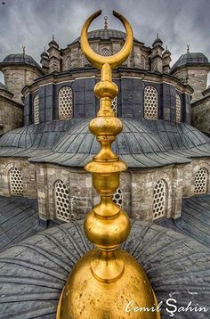 Istanbul Mosque Architecture, Historical Architecture, Architecture Details, Ottoman Empire, Islamic Art, Beautiful Places, Around The Worlds, Design, Alhamdulillah