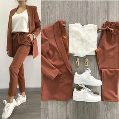 Outfits for Work – Trend Outfits for Work Fashion – 5 Casual Work Outfits, Blazer Outfits, Business Casual Outfits, Mode Outfits, Office Outfits, Work Casual, Classy Outfits, Chic Outfits, Trendy Outfits