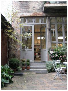 Eingangsbereich der Agentur