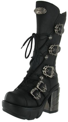 Pleaser Demonia Sinister SIN203 Women's Lace Up Boots