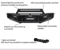 BR5 Front Bumper Replacements