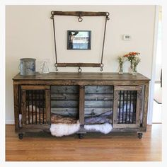 This is exactly everything I want. I fricken absolutely adore it. I'll have to wait until we're actually in a place and have the decor figured out completely before I can decide what color I want the kennels, but I am so in love with these it's ridiculous. And so in love with my boyfriend for doing this for me.