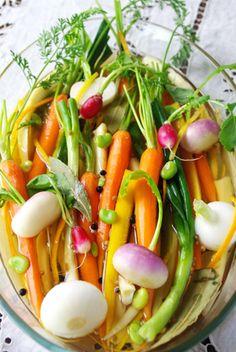 春野菜のピクルス・オレンジ風味