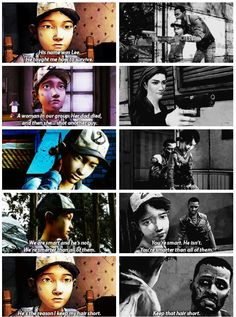 Clementine remembering Lee and everything that happened in twdg season 1   The Walking Dead (Telltale Game)