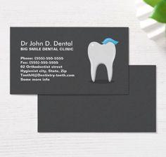 40 Best Dental Business Cards Images