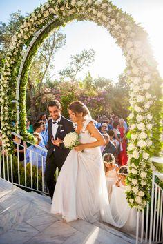 Vintage style γαμος στην Αθηνα | Ματινα & Δημητρης  See more on Love4Weddings  http://www.love4weddings.gr/vintage-style-athens-wedding/