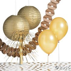 Gold Party Decorating Kit - FE13708922