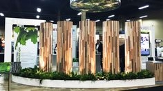 Our Enchanted Forest booth went over so well last year that we decided to revamp it anduse it again for the 2017 edition. The Enchanted Forest theme encapsulates our three core pillars-Forest, Quality and Innovation. #artfromnature