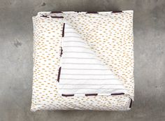 Grey Arrow & Toffee Tictac Doona Cover - Fictional Objects
