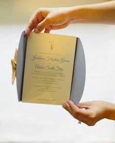elegant beach themed wedding invitation    photocredit: www.studioatticus.com