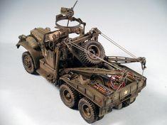 Diamond T Wrecker 1/35 Scale Model