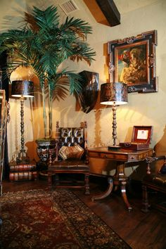 "Grandeur Design - ""old world"" Living Room"