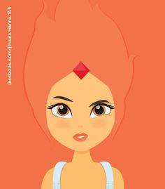 Fire Princess - Adventure Time Princess Adventure, Adventure Time, Disney Characters, Fictional Characters, Fire, Disney Princess, Illustration, Illustrations, Finn Jake