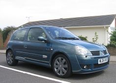 2004 Renaultsport Clio 182 Cup in RARE Petrol Blue Metallic.