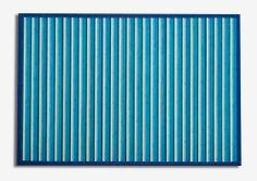 Alfombra bambú Aral.  Las alfombras de bambú son ecológicas y resistentes gracias a su fibra natural de rápido crecimiento.  Fáciles de lavar, anti-deslizantes, costuras reforzadas y resistentes al agua. #alfombras #bambú #decoración #azul