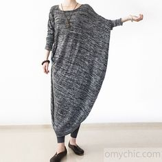 2017 spring new drape dresses chic oversize caftans tea green dresses