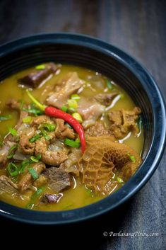 Gotong Batangas is a goto version of the province of Batangas. This is said to have originated in city of Lipa, which is known for having scores of famous Tripe Recipes, Sardine Recipes, Cuban Recipes, Filipino Recipes, Beef Recipes, Soup Recipes, Cooking Recipes, Pinoy Recipe, Goto Recipe