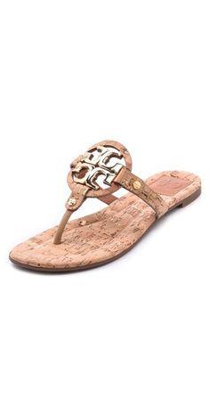 Tory Burch Miller 2 Cork Sandals | SHOPBOP