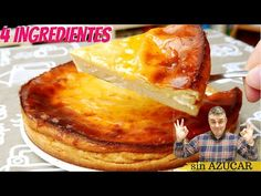SIN AZÚCAR y con solo 4 INGREDIENTES 🍰😍 (pastel de YOGUR y MIEL) - YouTube Honey Cake, Cake Youtube, Sugar Free, French Toast, Breakfast, Desserts, Food, 4 Ingredients, Yogurt Pie