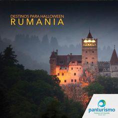 Un sitio perfecto para visitar el día de las Brujas es Rumania, donde se dice que está el Castillo del Conde Drácula. ¿Quién se atreve?