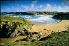 La plage de Donnant - Belle-Ile en mer - Bretagne - France